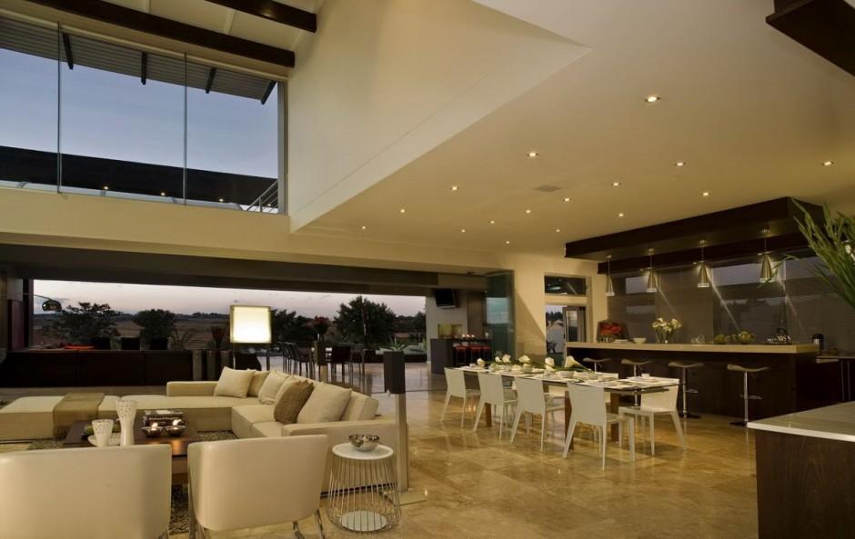 Lavish Modern Home In Johannesburg South Africa Luxury