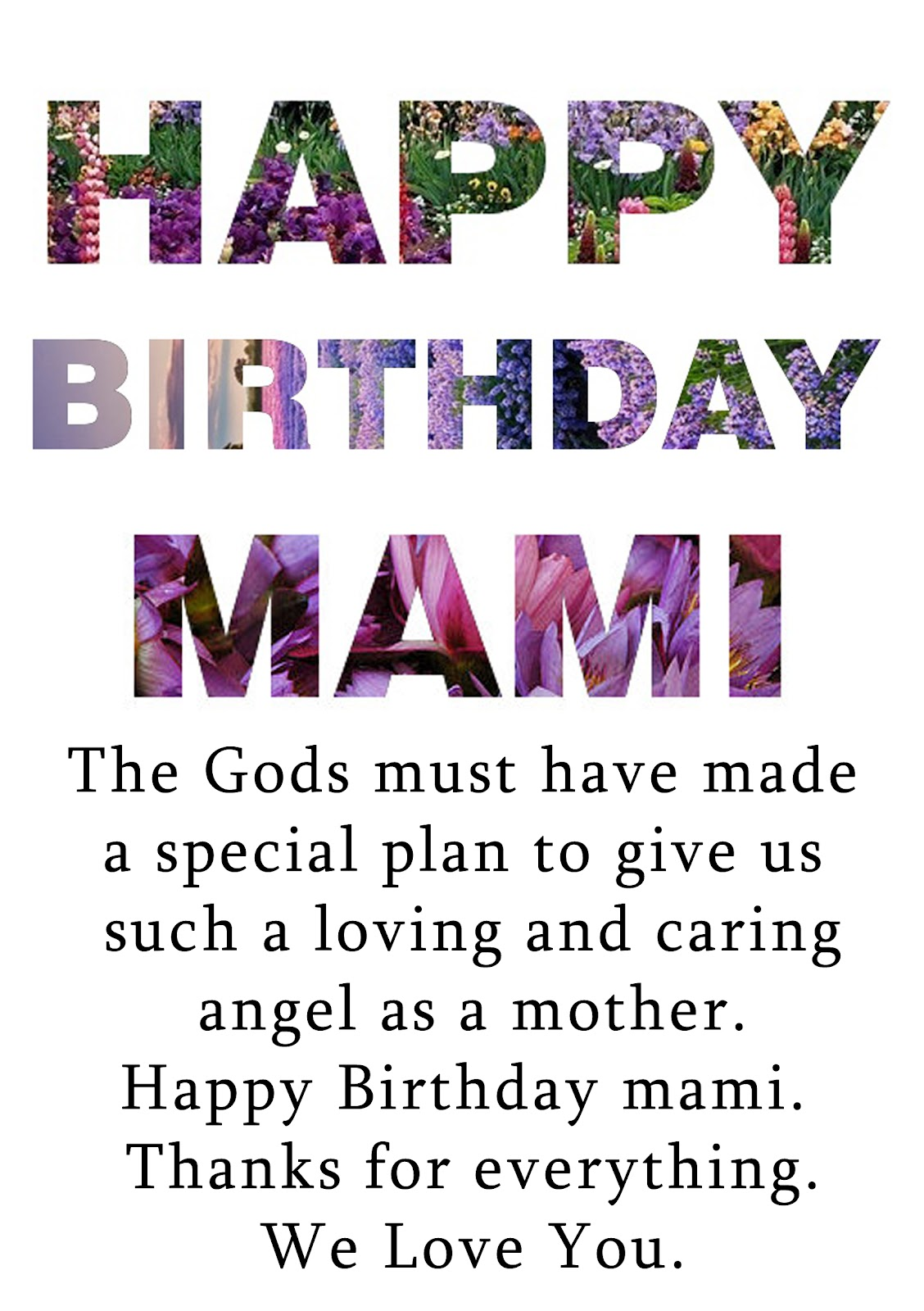 Mother Birthday Quotes, Sayings and Wishes