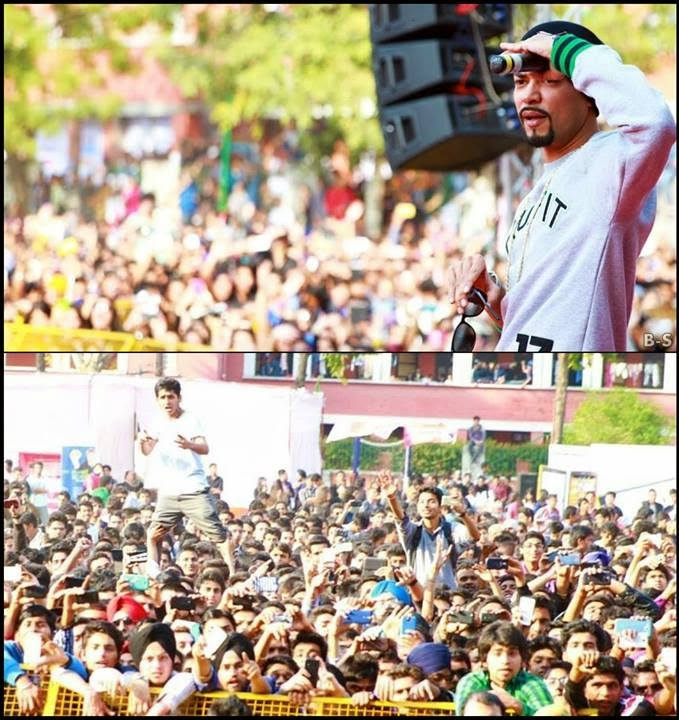 BOHEMIA LIVE IN CONCERT HANS RAJ COLLEGE DELHI UNIVERSITY 4