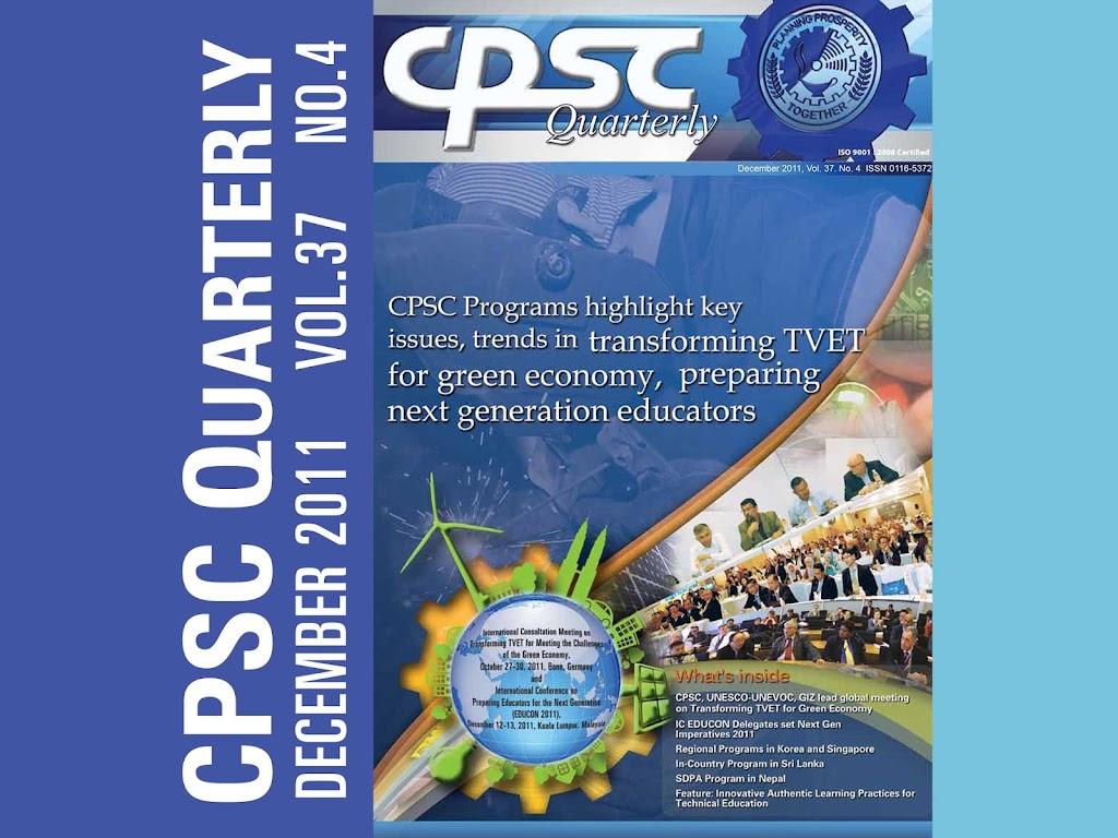 CPSC Quarterly December 2011