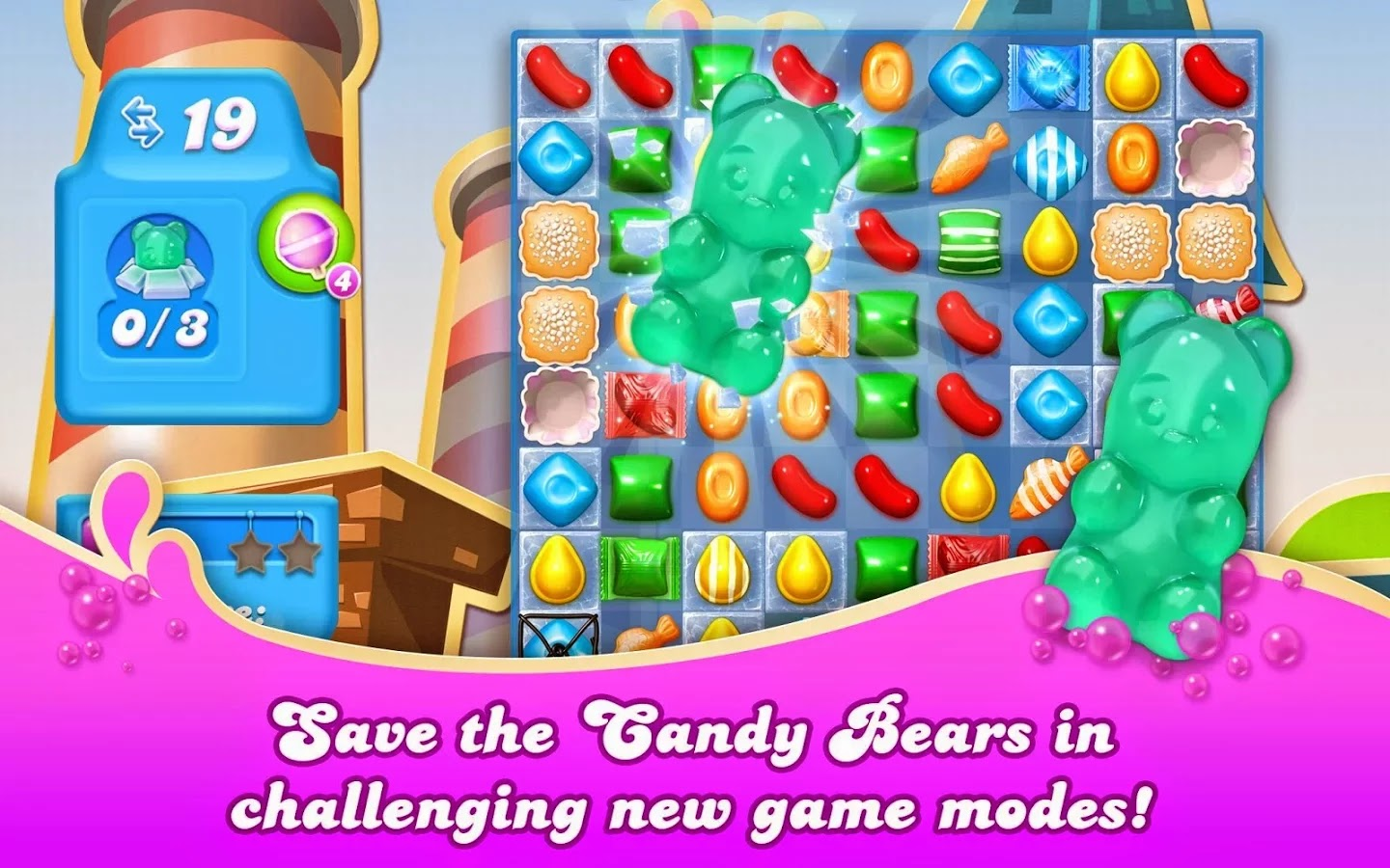 Candy Crush Soda Saga v1.31.31 Mod [Unlimited Lives & Boosters]