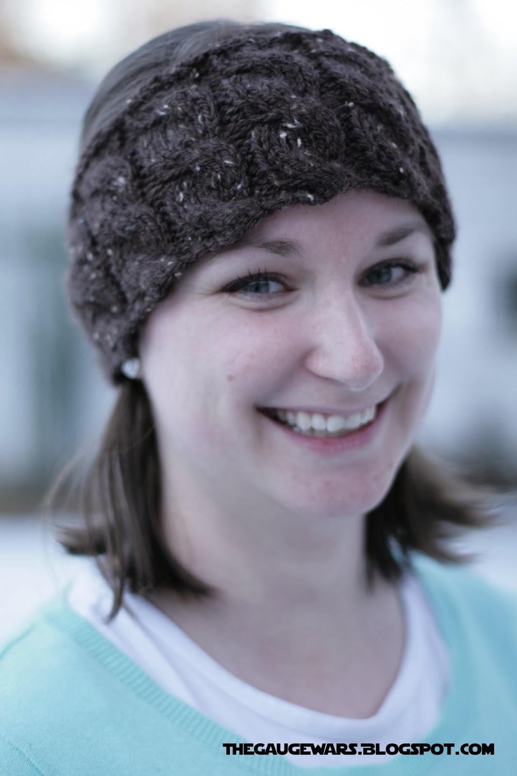 The Gauge Wars: Knitted Running Headband Pattern