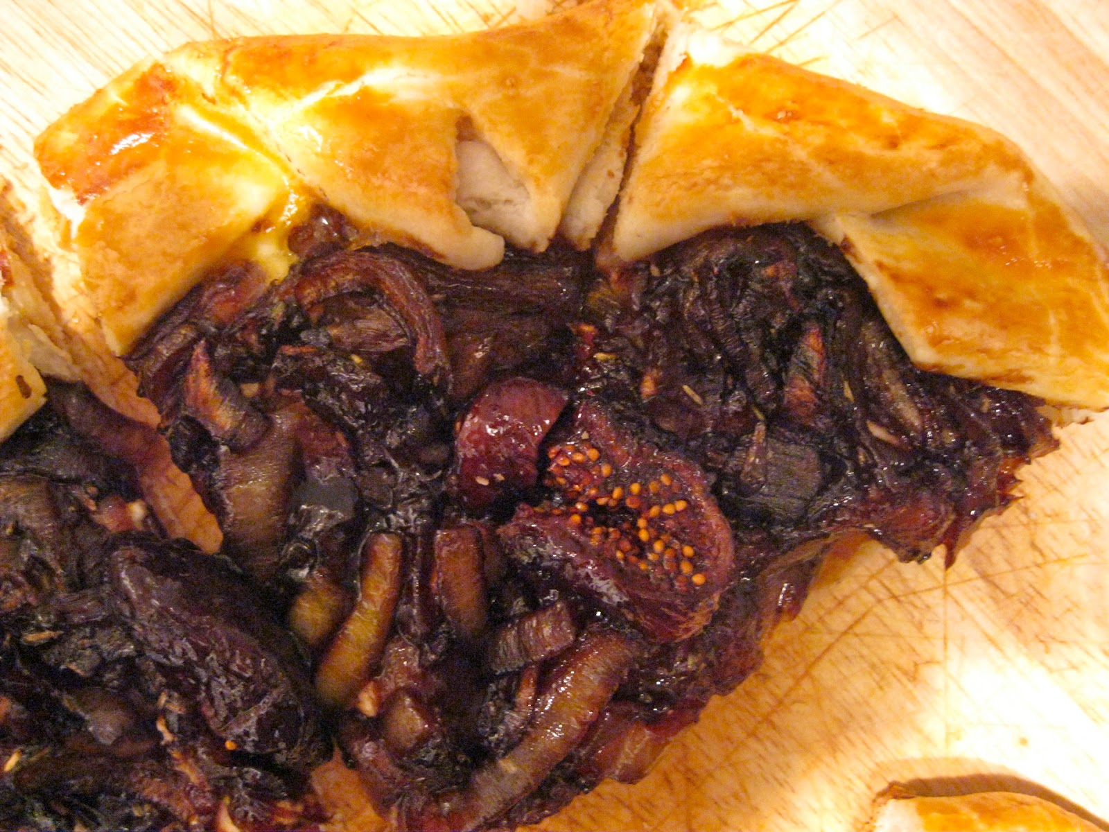 twin tastes : Glitzy Fig Galette and Moscow Mule
