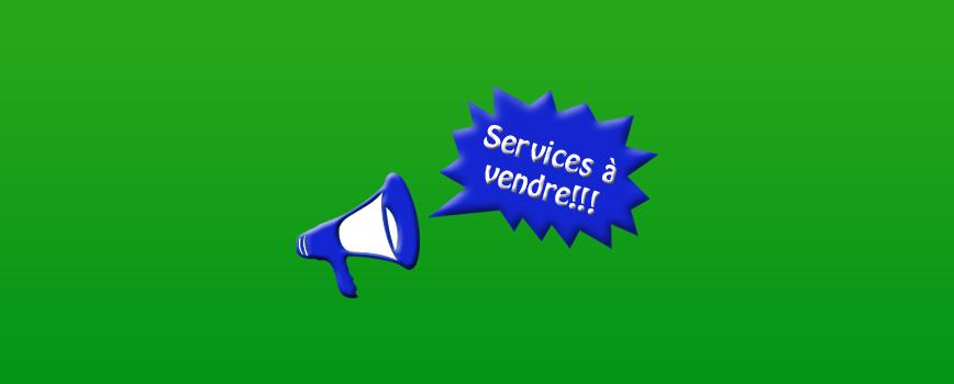 Sites de jobbing et autres sites pour vendre des services