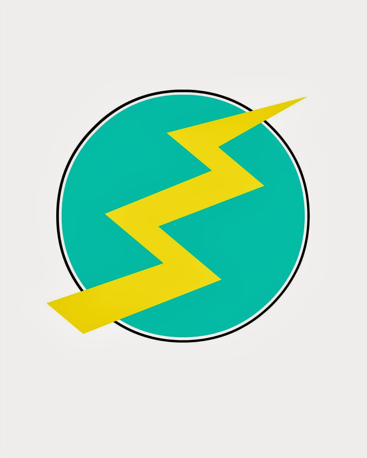 lightning bolt printable - perfect to put on a shirt with transfer paper