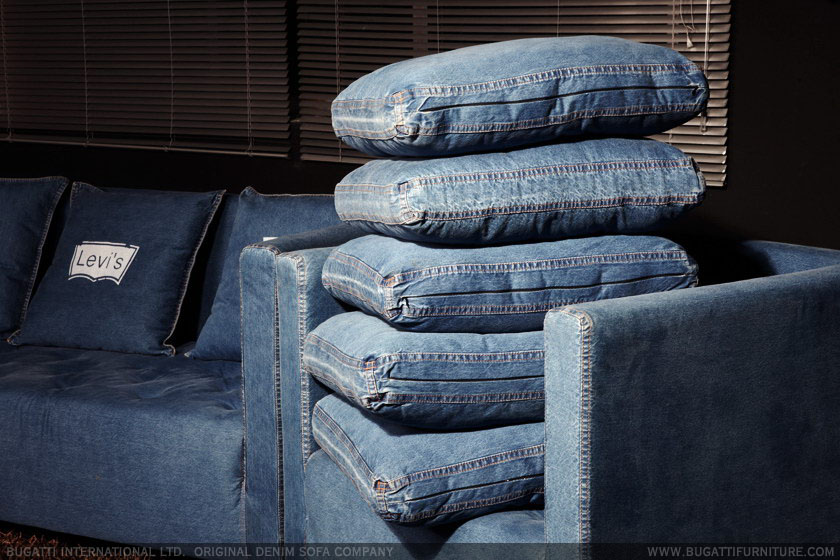 Nel mondo di pimpinella denim mania - Ricoprire un divano ...