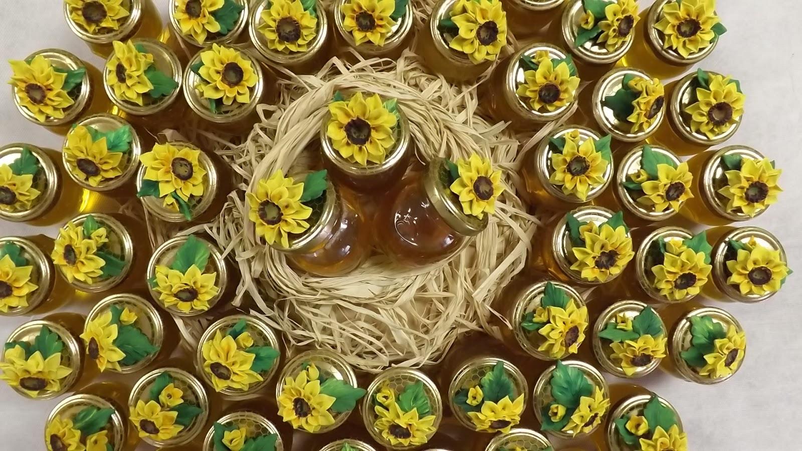 Bomboniere Matrimonio Girasoli : Ceramica come mestiere bomboniere girasole per matrimonio
