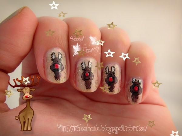 Renos nail art