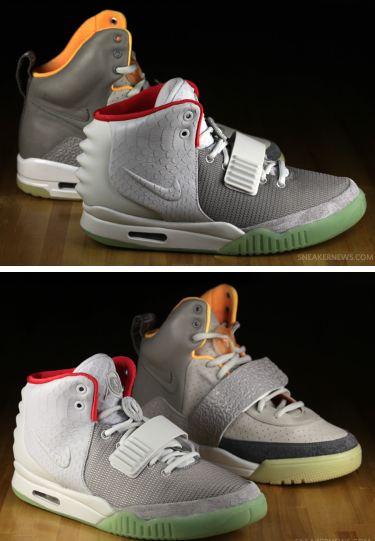 03f33e3a87dfb THE SNEAKER ADDICT  Nike Air Yeezy 1 VS Yeezy 2 Sneaker