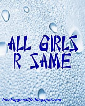 are all girls the same