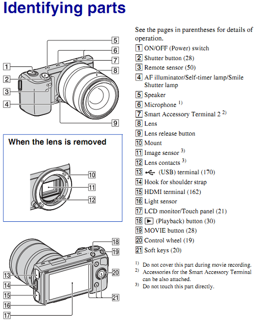 Download Sony Nex 5n Handbook In Pdf