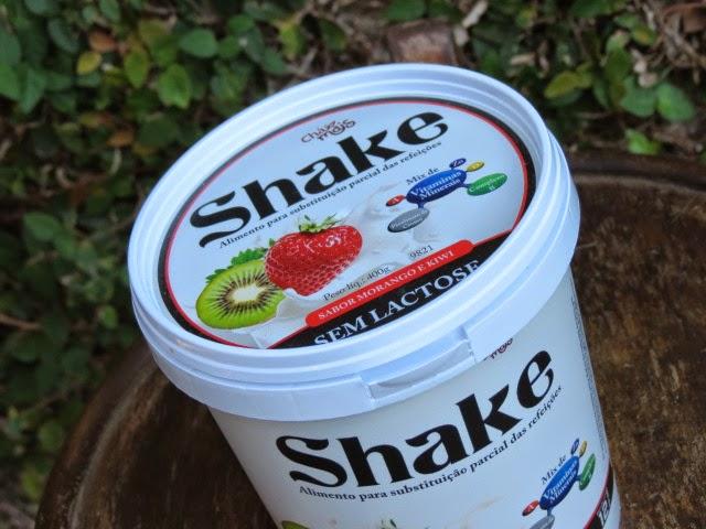 Shake sem lactose Chá Mais