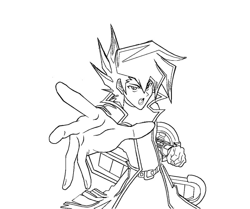 yugioh gx coloring pages - photo#26