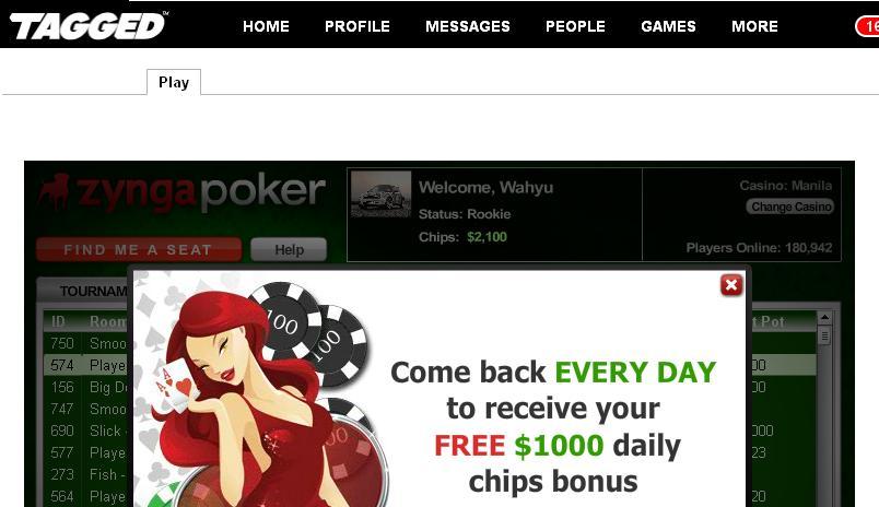 Account poker di banned