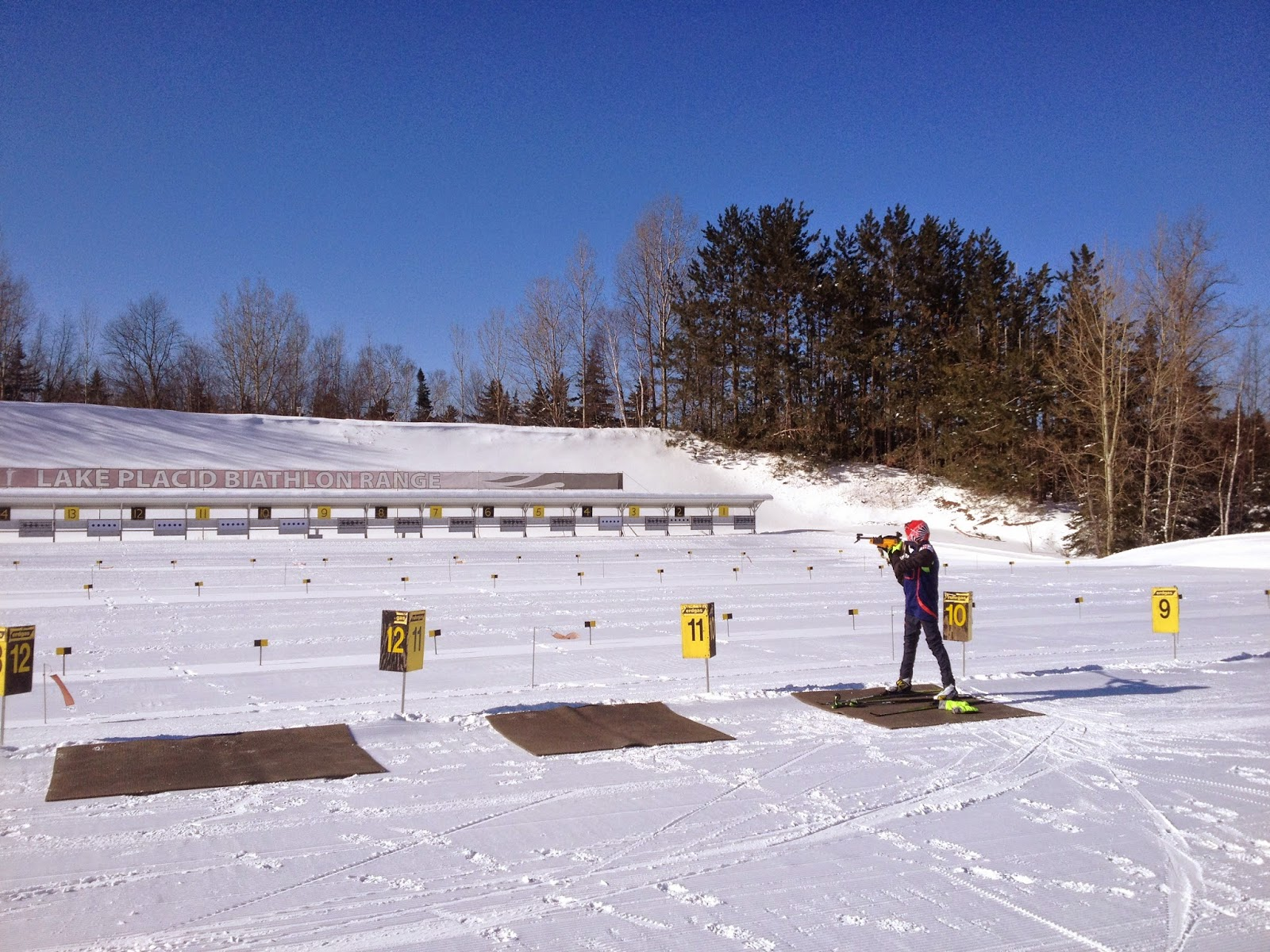Casey Smith Biathlon Lake Placid