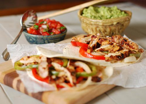 grilled chicken taco, tex-mex chicken