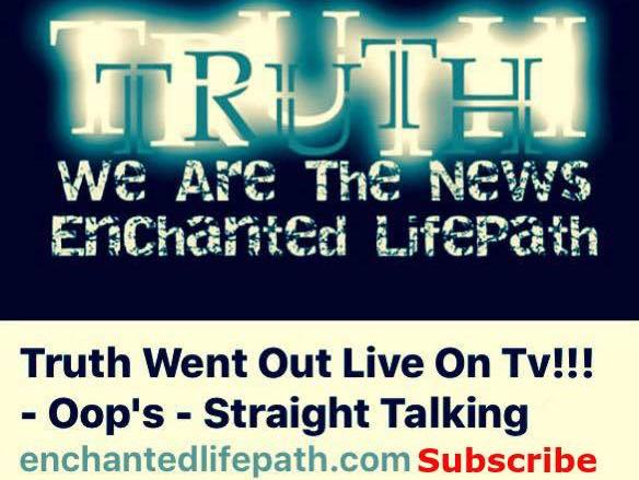 OOPS TRUTH WENT OUT LIVE ON TV