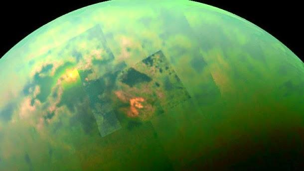 Formas de vida baseada em metano podem existir em Titã