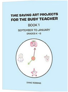 Time Saving Art Projects for the Busy Teacher cover