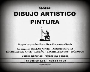 CLASES DE DIBUJO ARTÍSTICO Y PINTURA