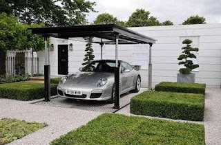 modern luxury car garage hydraulic power design