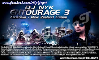 DJ NYK's – ENTOURAGE 3 ( AUSTRALIA – NEW ZEALAND )