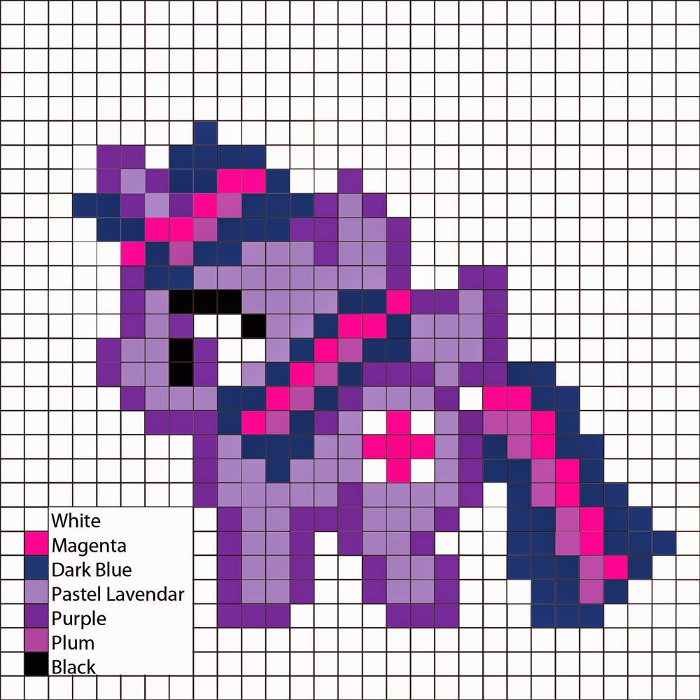 Perler Mania My Little Pony Friendship Is Magic Twilight Sparkle
