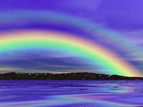 fenomeno natural arcoiris: