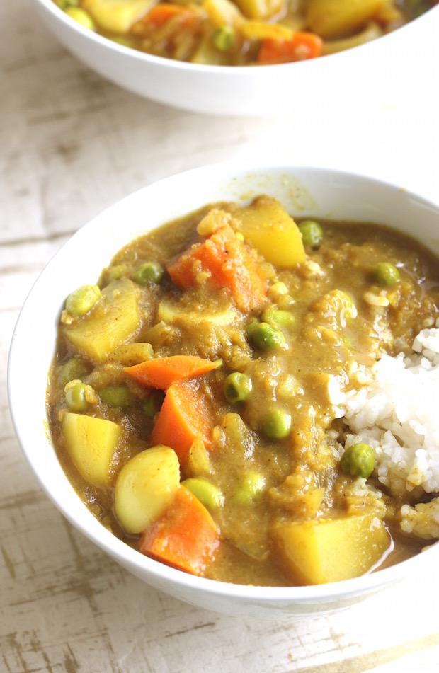 Japanese Vegetable Curry by SeasonWithSpice.com