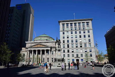 Image of Place d'armes in Montreal, Canada