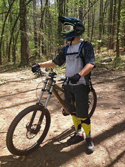 Greg Rides Trails Giro Remedy Full Face Helmet Review