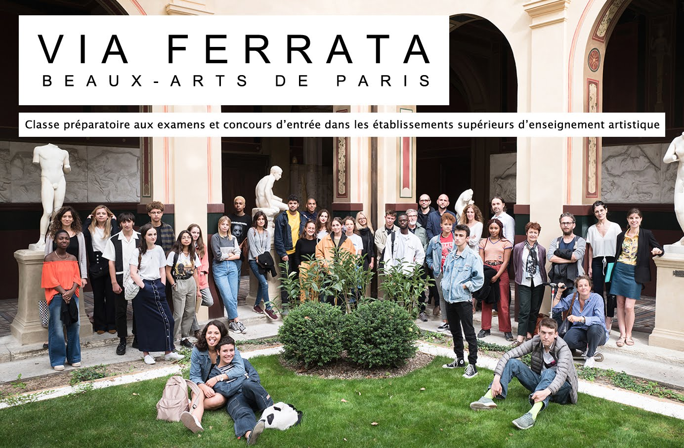 VIA FERRATA Classe préparatoire des Beaux-Arts de Paris