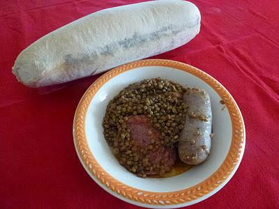 Lenticchie zampone e salsiccia