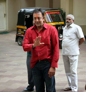 Sanjay Dutt in his home - Latest Photos