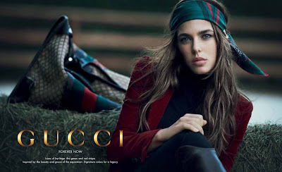 "Charlotte Casigrahi in Gucci's ""Forever Now"" Ad Campaign"