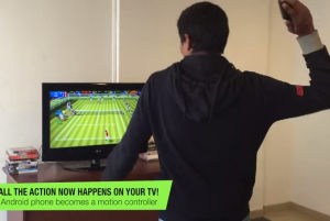 tennis in TV chromecast come wii