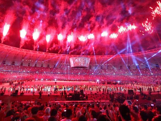 Ceremonia de inauguración Brasil 2014 Online