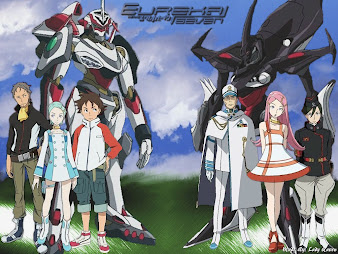 #16 Eureka Seven Wallpaper