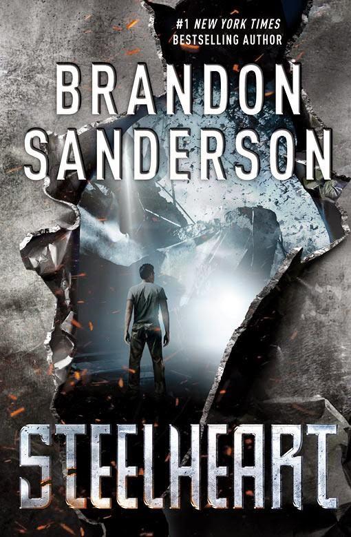 Steelheart by Brandon Sanderson cover