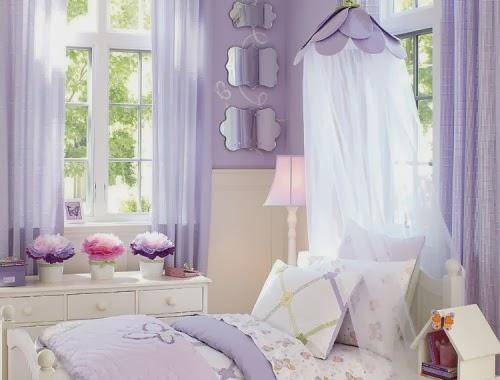 Colores para decorar dormitorios de ni as colores en casa for Cuartos de ninas color violeta