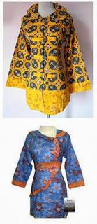 model pakaian batik modern