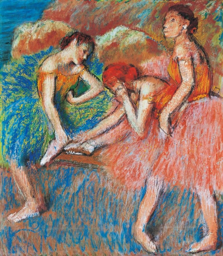 Degas - danseuses au repos