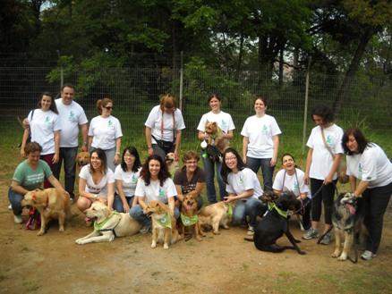 Voluntários do Inataa em visita ao Educandário Dom Duarte