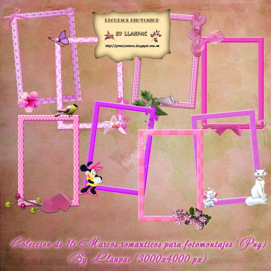 Disney Princess Frames for Photoshop