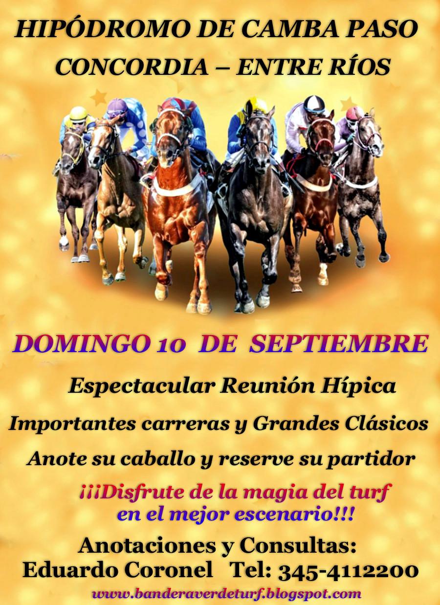 Camba Paso domingo 10 septiembre
