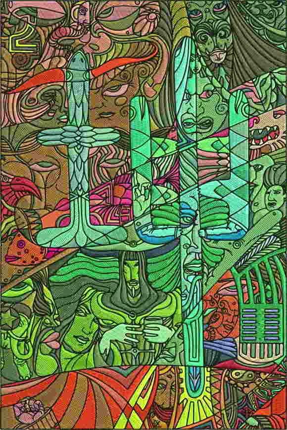 Vexel Art Coreldraw Alexey Oglushevich
