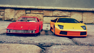 Ferrari and Lamborghini Car Toys