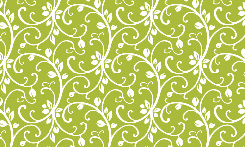 Vine green pattern