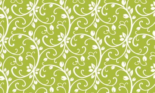 Vine green pattern