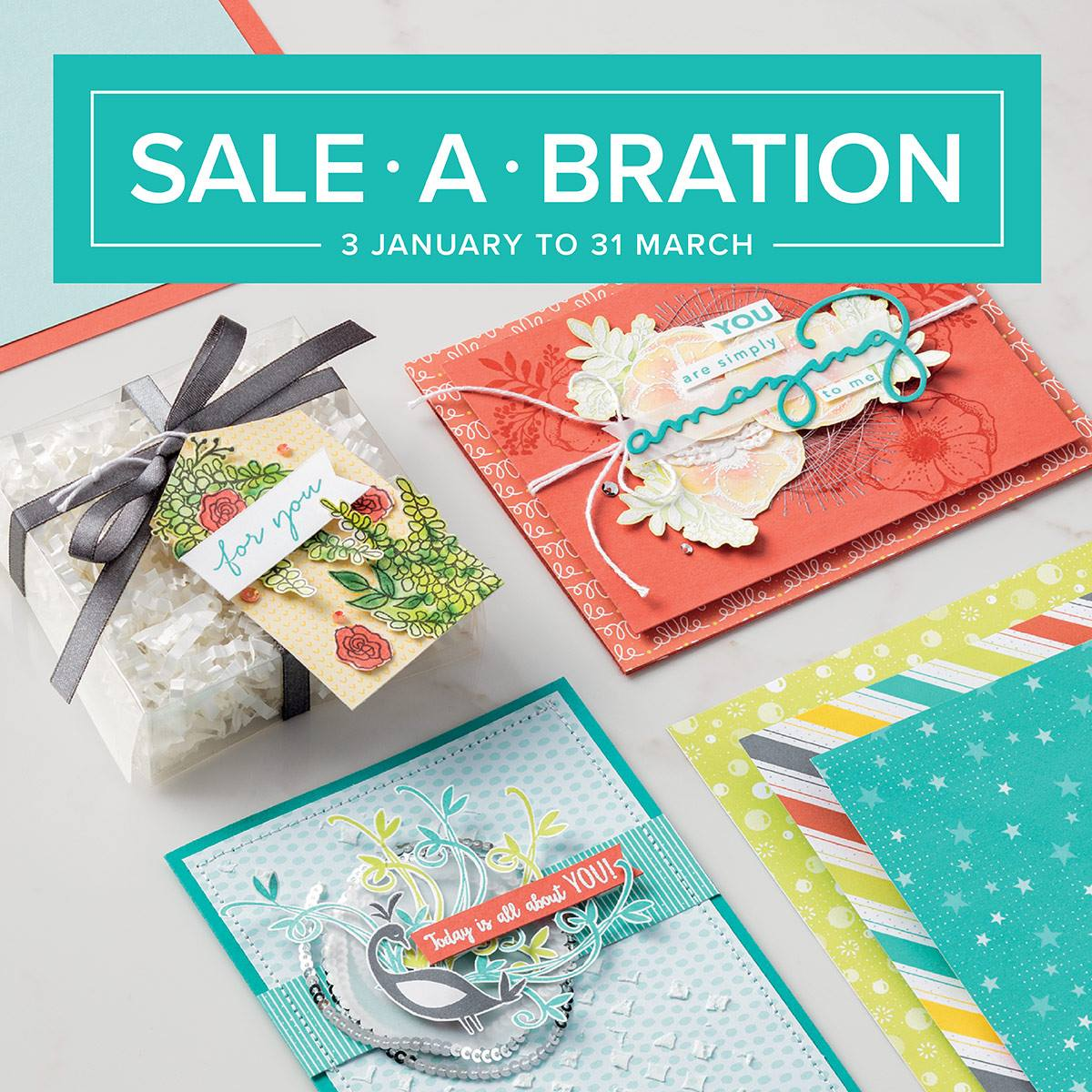 SALE-A-BRATION 2018 FOLDER